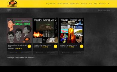 http://vfx-learning.com screenshot