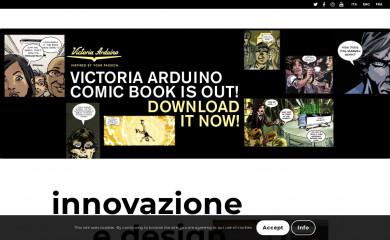 victoriaarduino.com screenshot