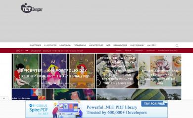vietdesigner.net screenshot