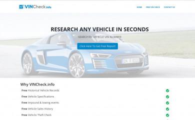 vincheck.info screenshot