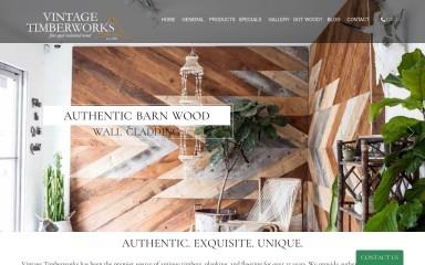 vintagetimber.com screenshot