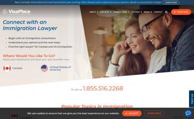 visaplace.com screenshot