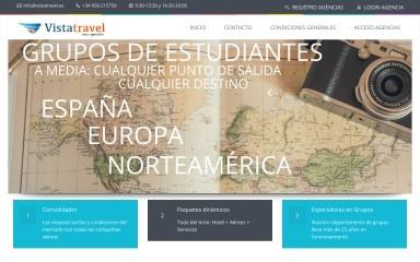 vistatravel.es screenshot