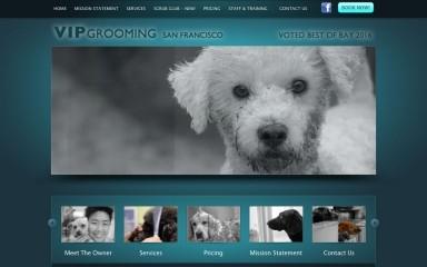 vipgroomingsf.com screenshot