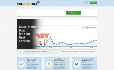 viralcontentbee.com screenshot