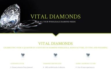 vitaldiamonds.com screenshot
