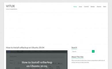 vitux.com screenshot