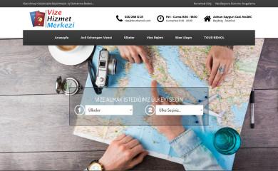 vizehizmetmerkezi.com screenshot