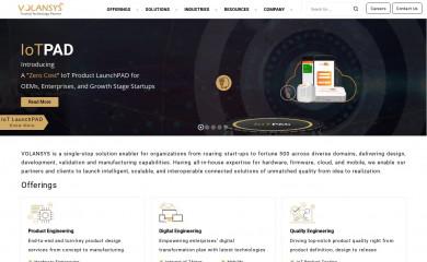 volansys.com screenshot