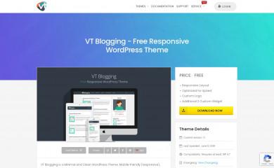 VT Blogging screenshot