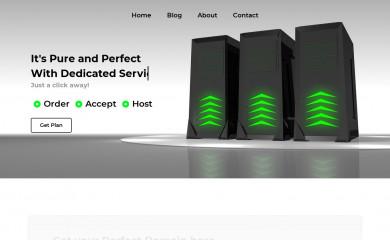 volunteerhosting.net screenshot