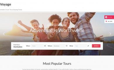 Voyage screenshot