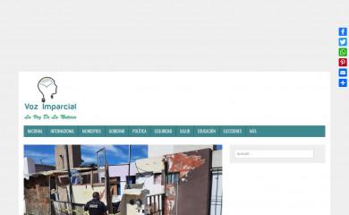 vozimparcial.com.mx screenshot