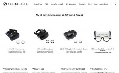 vr-lens-lab.com screenshot