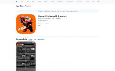 http://vroom.gp screenshot
