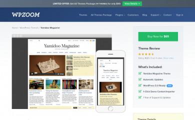 Yamidoo Magazine screenshot