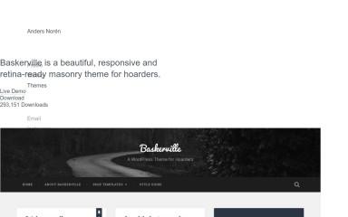 Baskerville 2 screenshot