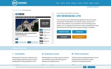 MH Newsdesk Lite screenshot