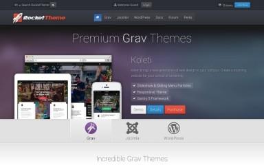 Gantry Theme for WordPress screenshot