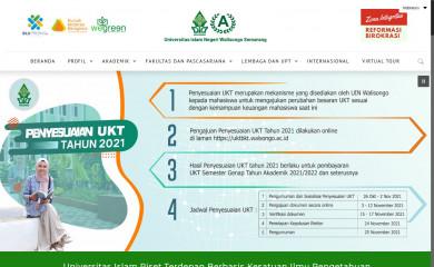 walisongo.ac.id screenshot