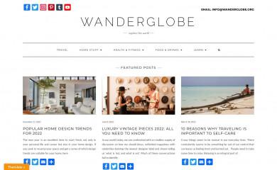 wanderglobe.org screenshot