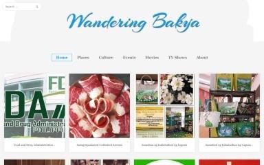 wanderingbakya.com screenshot