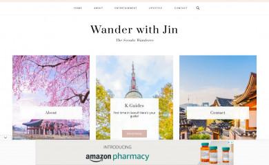 wanderwithjin.com screenshot