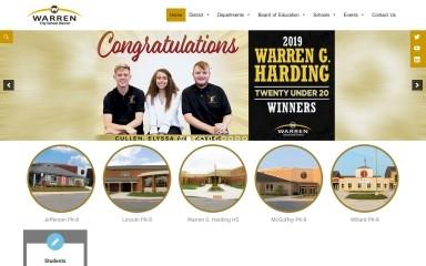 warrencityschools.org screenshot