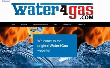 water4gas.com screenshot