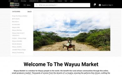 http://wayuumarket.com screenshot