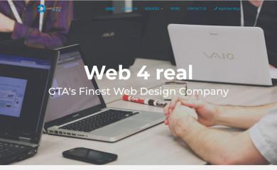 web4real.ca screenshot