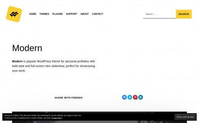 https://www.webmandesign.eu/portfolio/modern-wordpress-theme/ screenshot