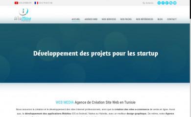 webmedia-tunisie.com screenshot