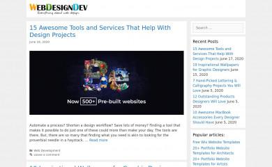 webdesigndev.com screenshot