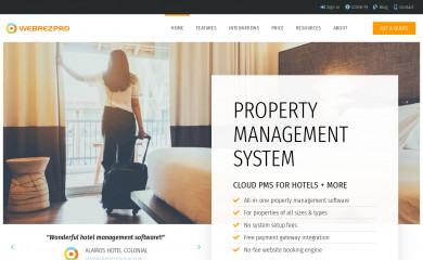 webrezpro.com screenshot