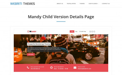 Mandy screenshot