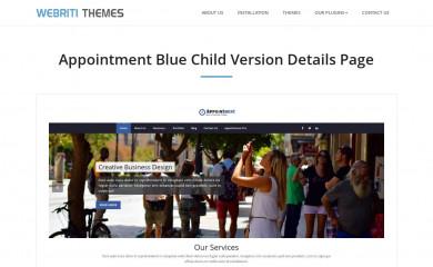 Appointment Blue screenshot