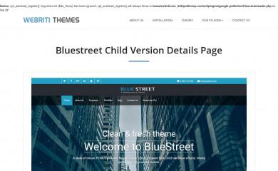 Bluestreet screenshot