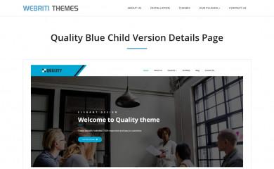 Quality blue screenshot