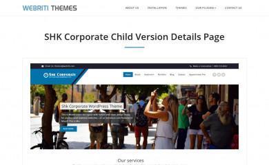 Shk Corporate screenshot