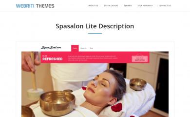 Spasalon screenshot