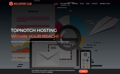 websupport.club screenshot