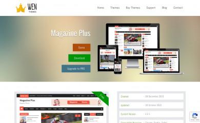 https://wenthemes.com/item/wordpress-themes/magazine-plus/ screenshot