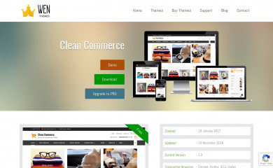 Clean Commerce screenshot