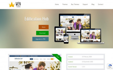 https://wenthemes.com/item/wordpress-themes/edification-hub/ screenshot