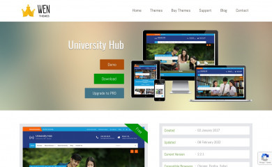 http://wenthemes.com/item/wordpress-themes/university-hub/ screenshot