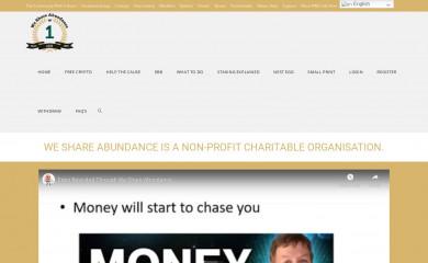 weshareabundance.com screenshot