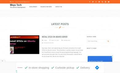 wepstech.com screenshot