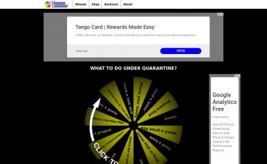 wheeldecide.com screenshot