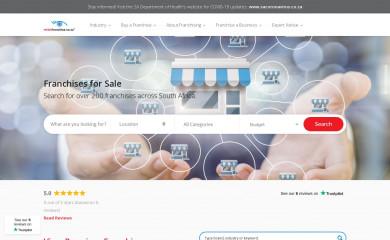 whichfranchise.co.za screenshot